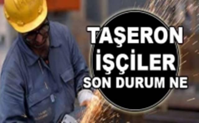 Başbakan Yardımcısından Taşeron Açıklaması