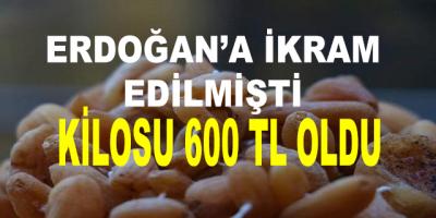 Başkan Erdoğan'a İkram Edilen Bitkinin Kilosu 600 Lira Oldu