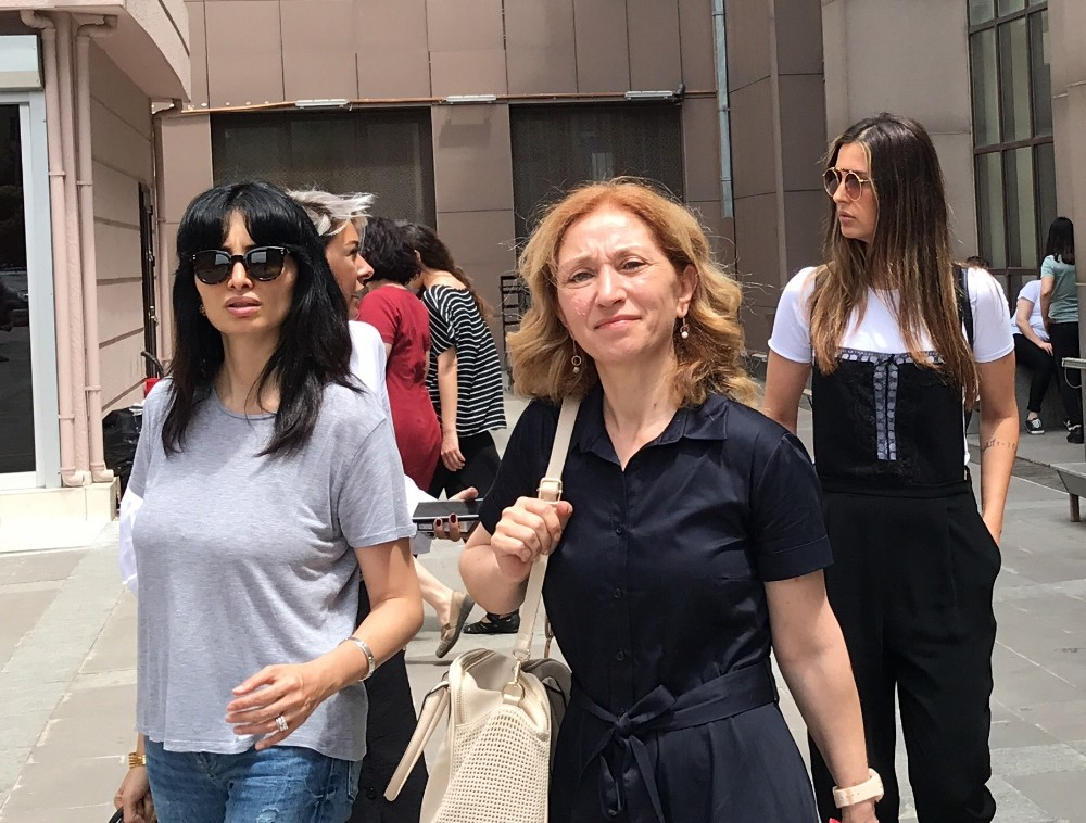 Ebru Destan'ın boşanma davasında oyuncu Başak Sayan tanık olarak dinlendi