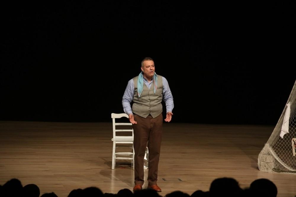 Biga'da 'Anlatılan senin hikayendir' sahnelendi