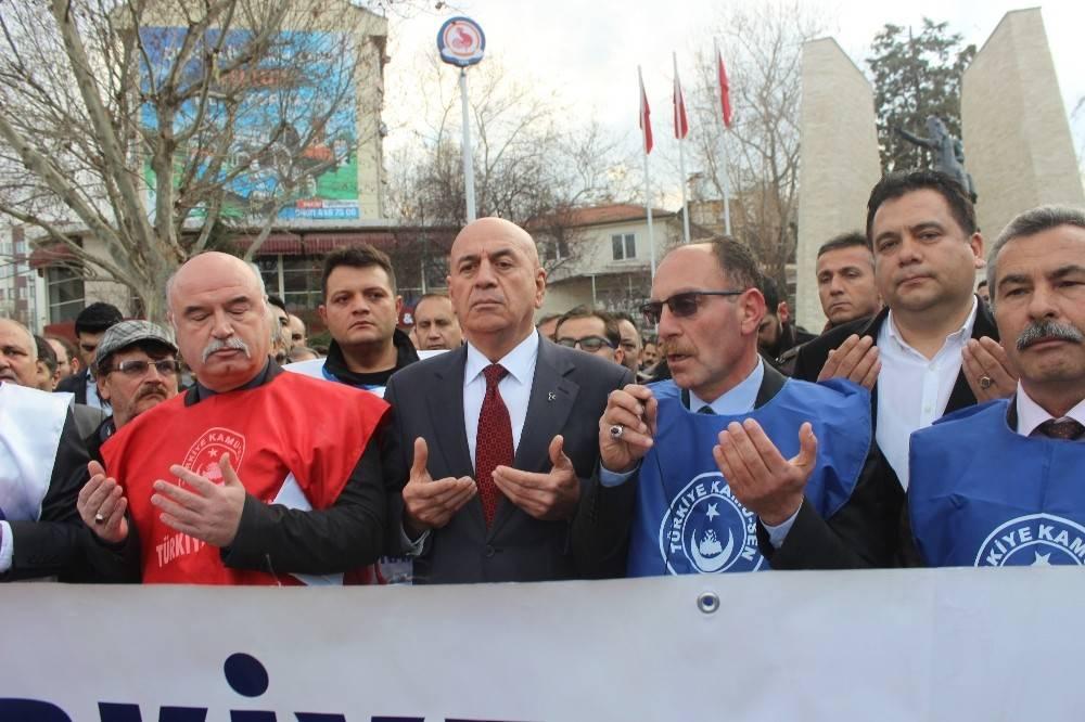 Kamu-Sen'den Afrin'e destek yürüyüşü