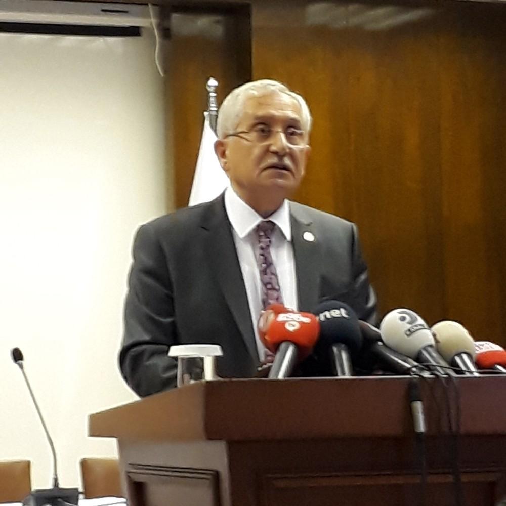 """YSK Başkanı Güven: """"Recep Tayyip Erdoğan'ın geçerli oyların salt çoğunluğunu aldığı anlaşılmaktadır"""""""