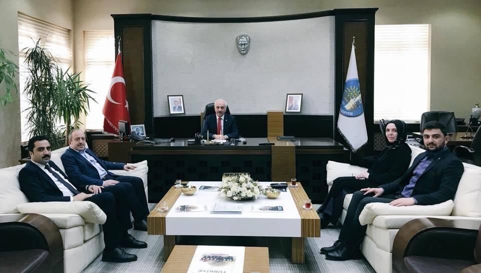 AK Parti teşkilatlarından Gül'e kutlama