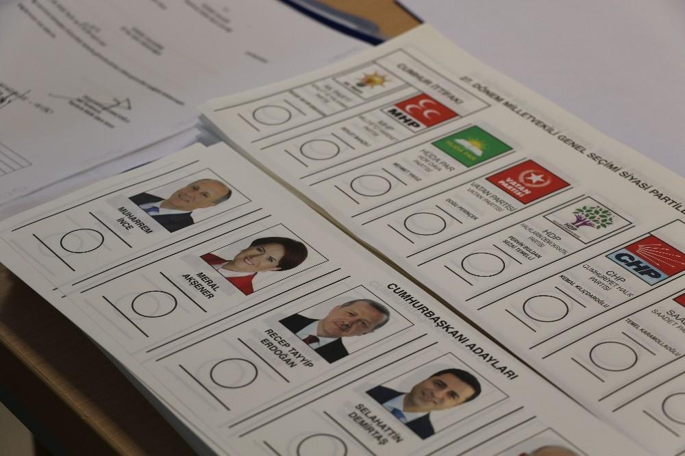 Edirne'de geçerli oy sayısı 111 bin 951