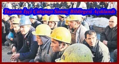 CHP'nin Düzenlemiş Olduğu Taşeron İşçi Çalıştayı Sonuç Bildirgesi Açıklandı