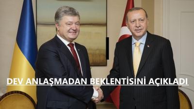 Cumhurbaşkanı Erdoğan: Ukrayna İle Ticaretimiz 10 Milyar Dolara Varacak
