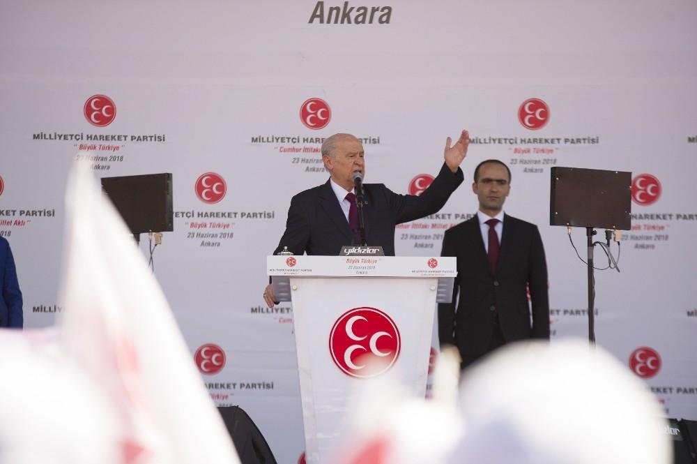 MHP Lideri Bahçeli: ″İnce, inceldiği yerden yarın kopacaktır″