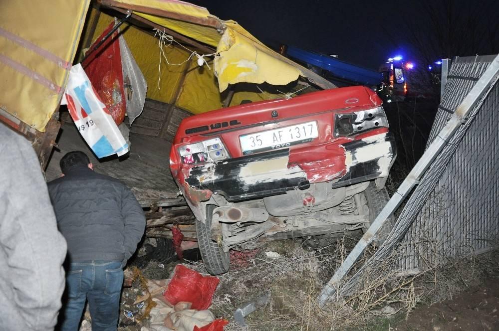 Afyonkarahisar'da trafik kazası: 2 ölü
