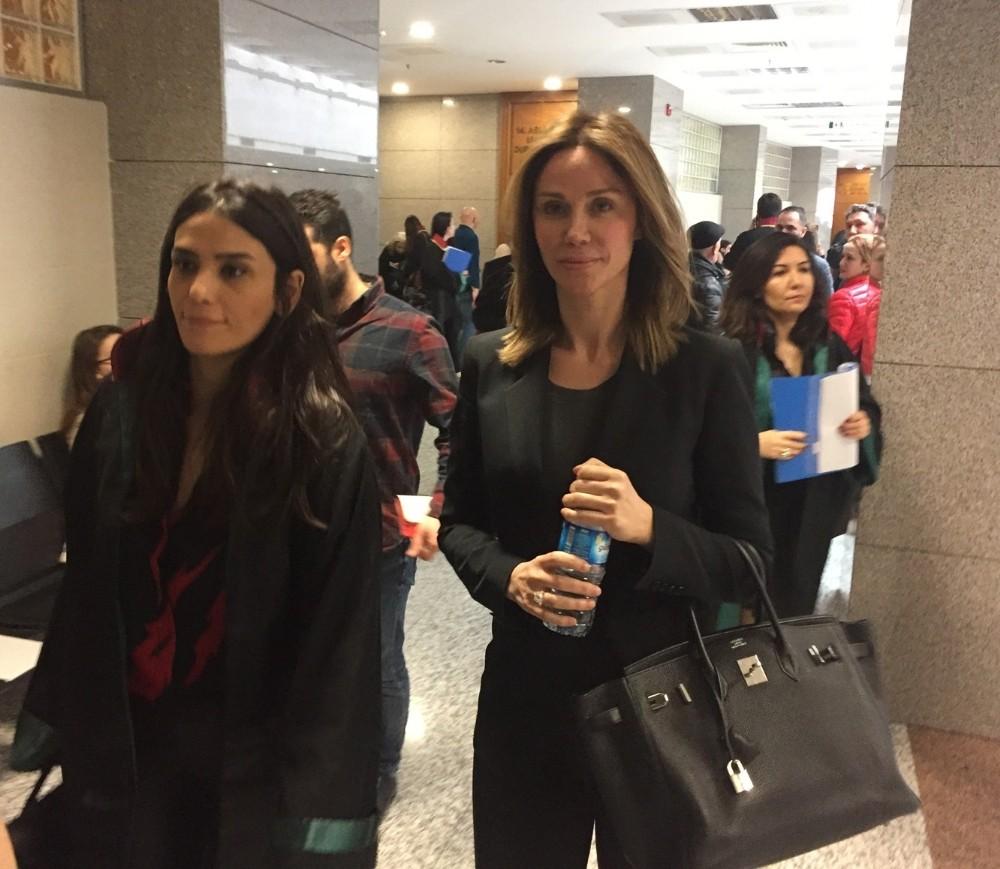 Demet Şener'in Edvina Sponza'ya  açtığı 500 bin TL'lik davada tanıklar dinlendi