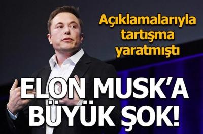 Elon Musk'a büyük şok!