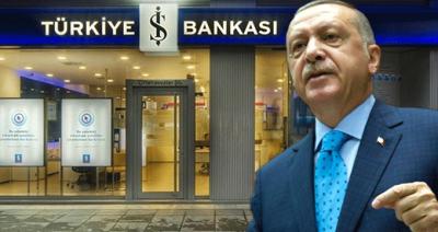 Erdoğan'ın Sözleri Sonrası, İş Bankası Açıklama Yaptı