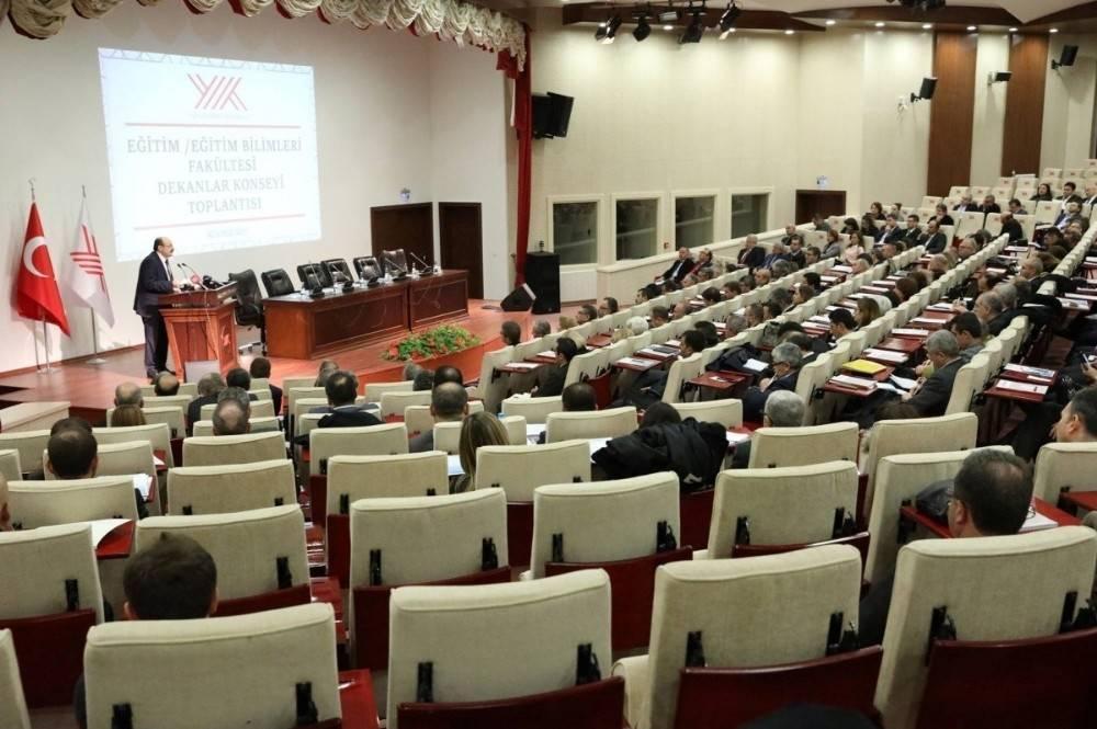 Eğitim Fakültesi Dekanı Genç, Dekanlar Konseyi Üyeliğine seçildi