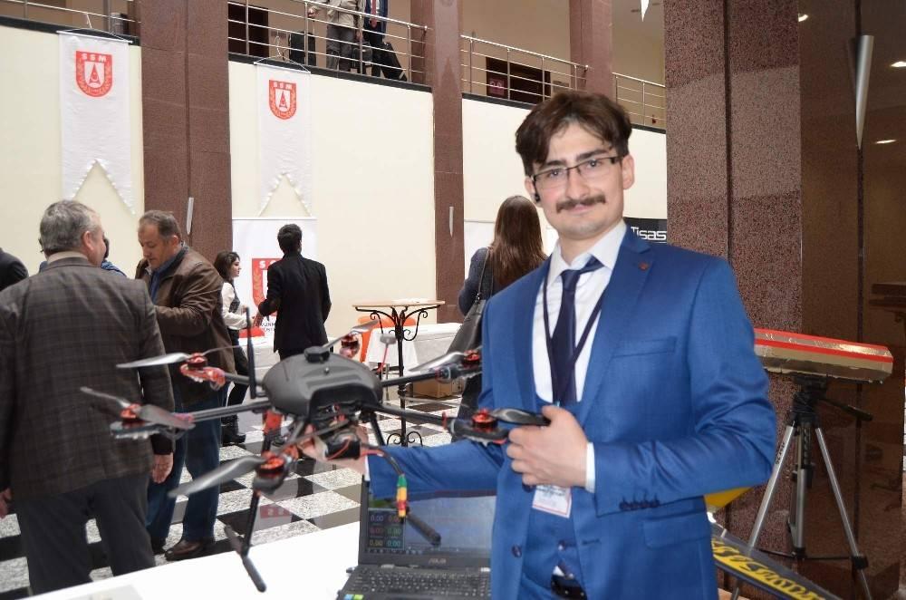 Savunma Sanayii'de kullanılmak üzere askeri komutla çalışacak drone geliştirdi