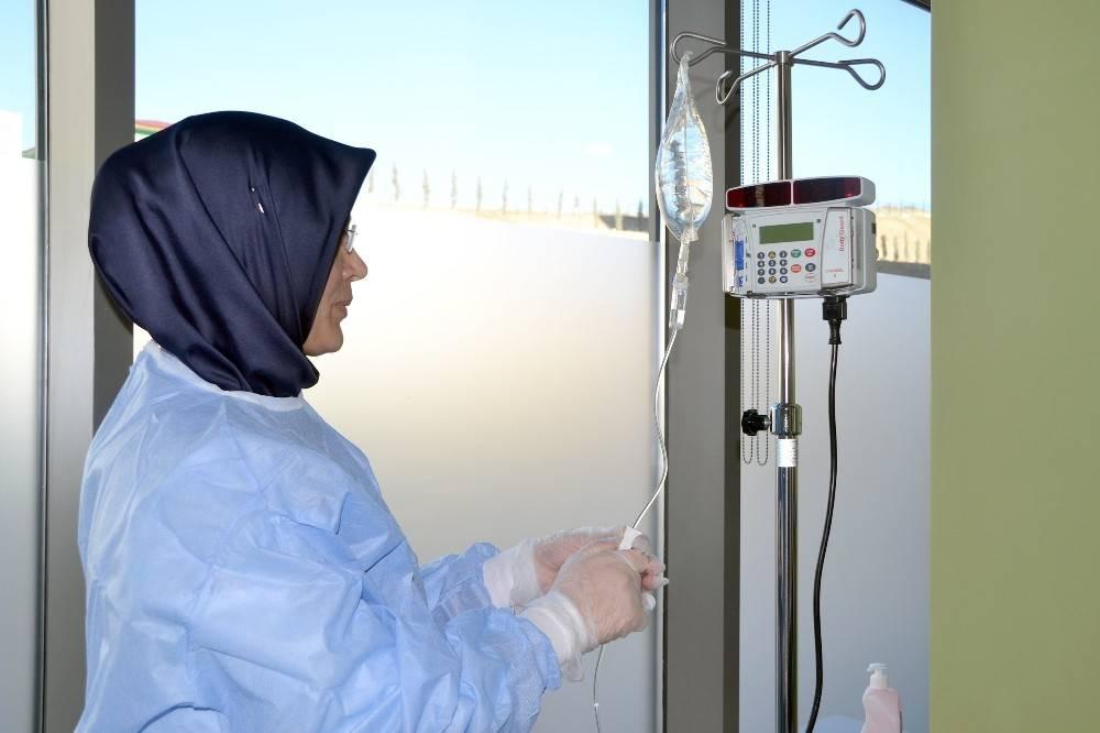 Yozgat'ta kanser hastaları kemoterapi tedavisi için başka ile gitmeyecek