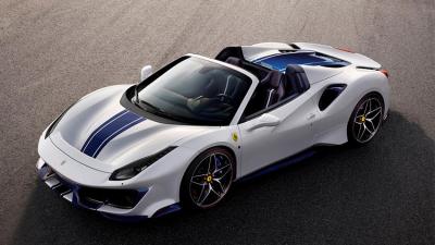 Ferrari, En Güçlü Üstü Açık Otomobili 488 Pista Spider'ı Tanıttı