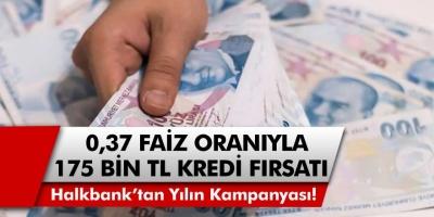 Halkbank'tan son yılların kampanyası! Bankalarda kuyruk oluştu! 0.37 faiz oranıyla 175 Bin TL….