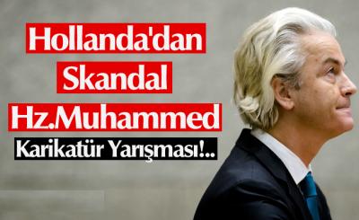 Hollanda'dan Skandal Hz.Muhammed Karikatür Yarışması!..