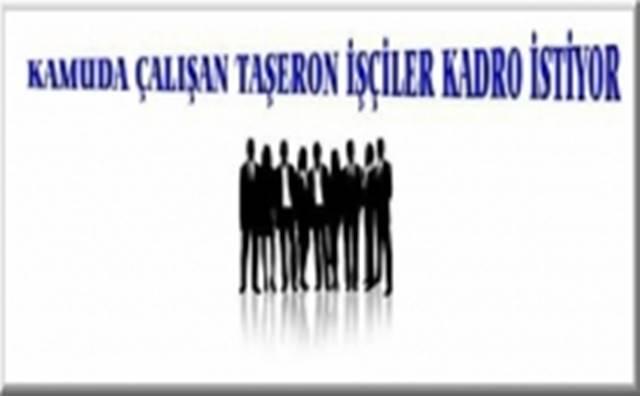 Kayseri Erzincan ve Erzurum'da Kamu Taşeron İşçi Hareketi