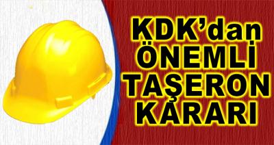 KDK'dan Önemli Taşeron Kararı! Tüm İşçileri İlgilendiriyor