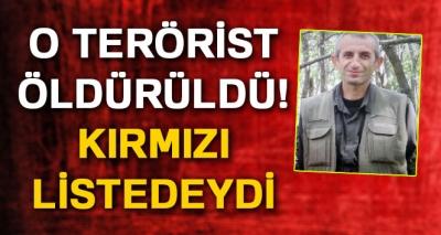 Kırmızı Listede Yer Alan Terörist Öldürüldü