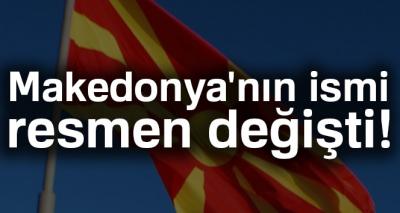 Makedonya'nın ismi 'Kuzey Makedonya Cumhuriyeti' oldu