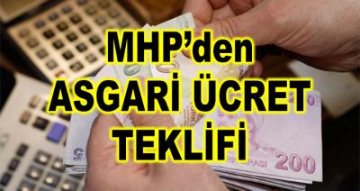 MHP'den Asgari Ücretle İlgili Yeni Teklif