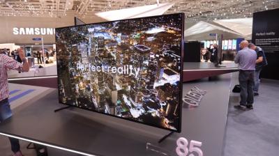 Samsung 8K Televizyonunu Tanıttı