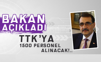 TTK'ya 1500 Personel Alınacak!