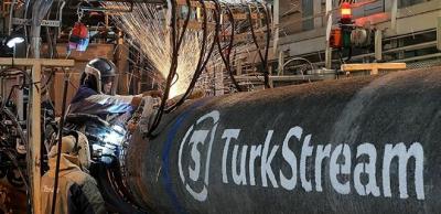 Türk Akımı'nın Yüzde 80'i Tamamlandı