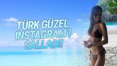 Türk Güzel İnstagramı Salladı