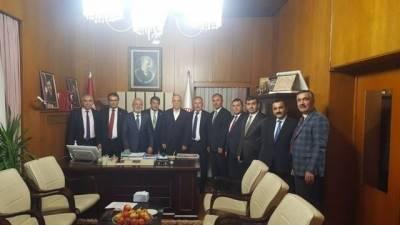 Türk-İş Başkanı Ergün Atalay TBMM'de toplantıya katıldı