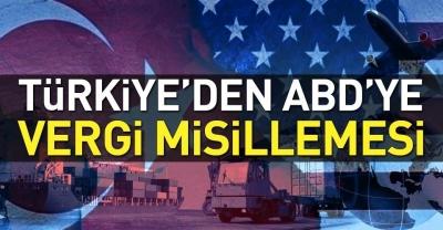Türkiye'den Vergi Misillemesi