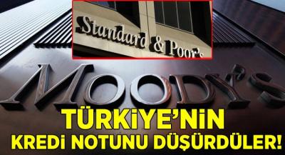 Türkiye'nin Kredi Notunu Düşürdüler!