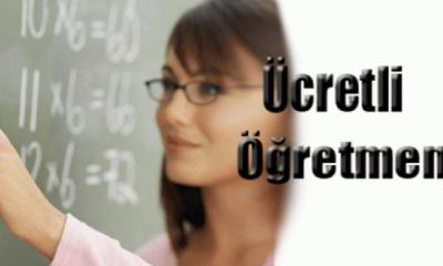 Ücretli Öğretmenlere Müjde!!