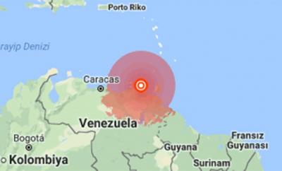 Venezuela'da 7.0 Büyüklüğünde Deprem