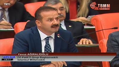 İYİ Parti Milletvekili Yavuz Ağıralioğlu'nun Mecliste Taşeronlarla İlgili Açıklamaları