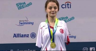 Kolları Olmayan Sümeyya Boyacı Avrupa Şampiyonu